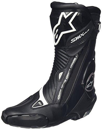 - Alpinestars Men's SMX Plus Boots (Black, Size EU 48)