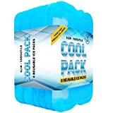 Healthy Packers Ice Pack for Lunch Box - Freezer Packs - Original Cool Pack | Slim & Long-Lasting Ice Packs for Your Lunch or Cooler Bag (Set of 8)