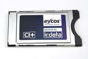 Eycos Irdeto CI +–Módulo para receptores de satélite con tarjetas ORF ICE en y televisores LED y LCD
