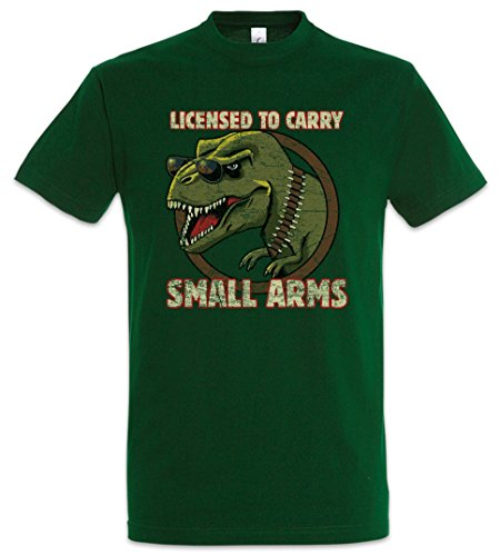 Urban Backwoods Licensed to Carry Small Arms T-Shirt Green