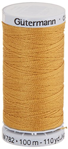 (Jeans Thread 100 Yards-Gold)