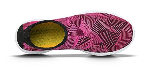 Recrec Waterschoenen Door Thermische Kleurverandering, Dynamisch-fit, Augustus-ontwerp - Comfortgevoel Voor Je Voeten Roze