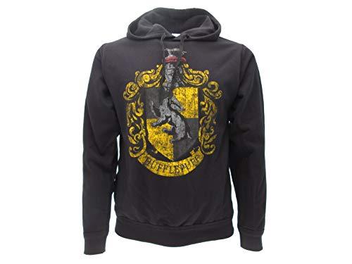 Sudadera con Capucha Hoodie Hufflepuff de Harry Potter - 100% Original y Oficial Warner Bros: Amazon.es: Ropa y accesorios