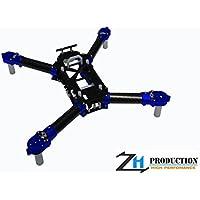 ZealHeli CNC Frame Kit - Traxxas Aton ( Blue )
