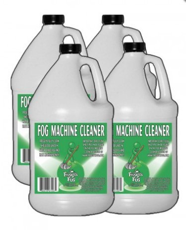 Froggy's Fog Machine Cleaner - 1 Case (4 Gallons) (4 Case Gallon Cleaner)