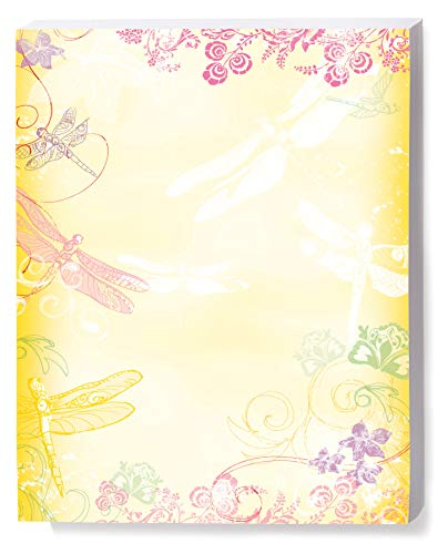 Dragonfly Sketch Border Papers, 100 Count