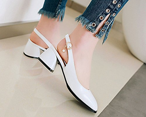 Blanc HiTime Mules Femme HiTime Mules IrRvrF