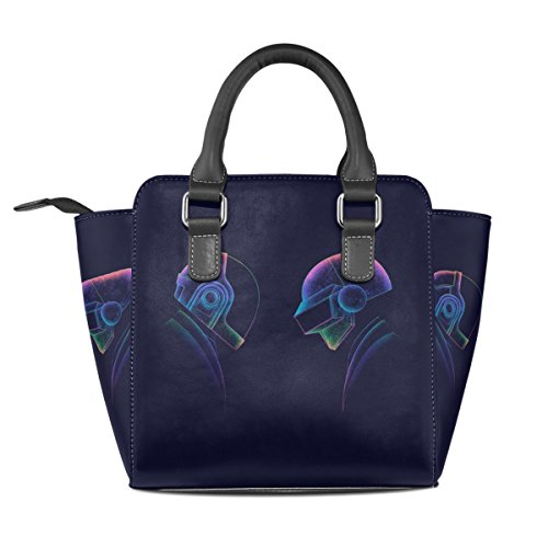 Shoulder Rivet PU Art Leather Punk Tote Dj Purse Bag Bag Bennigiry Daft Women's wXqpvv