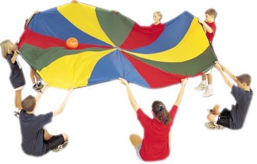 Deluxe Parachute 30' Dia. - 24 Handles