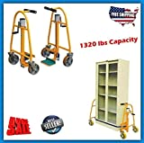 IntbuyingFurniture Safe Dolly Mover Machine Lifter with Retractable Ratchet