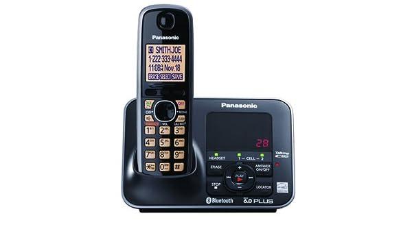 Panasonic kx-tg7621 B Bluetooth teléfono inalámbrico: Amazon.es: Electrónica