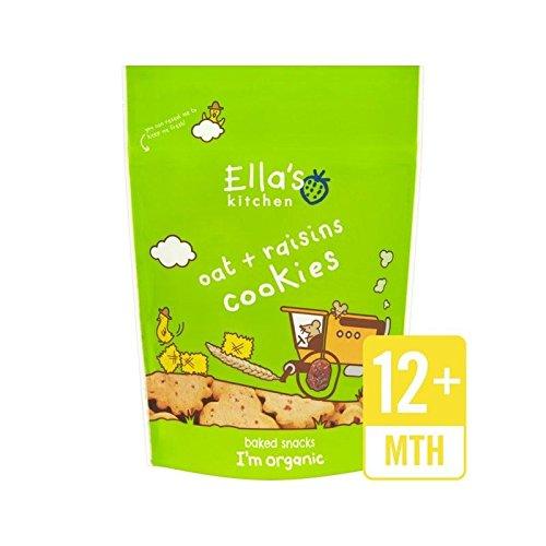 Ella's Kitchen Oat & Raisins Cookies 80g Ella's