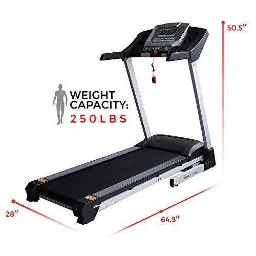 Sunny Health & Fitness SF-T7515 Smart Treadmill with Auto Incline, Bluetooth and BMI Calculator by Sunny Health & Fitness (Image #10)