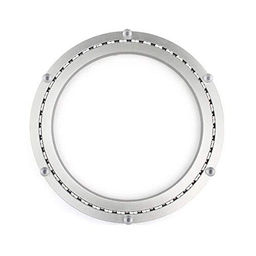 - HomDSim Aluminum Metal Lazy Susan Hardware 360°Rotating Turntable Bearings Swivel Plate Turntable on Dining-table Furniture hardware glass turntable