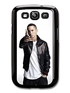 AMAF ? Accessories Eminem Hand Portrait Hip Hop Rapper case for Samsung Galaxy S3
