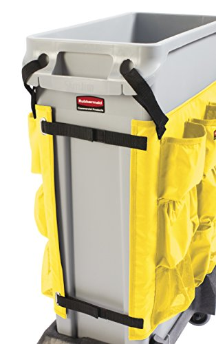 Rubbermaid Commercial Products 2032951 Slim Jim Caddy Bag for 23 gal, Yellow by Rubbermaid Commercial Products (Image #5)