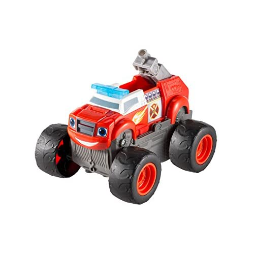 Fisher-Price – Blaze et les Monster Machines – Transformation Camion de Pompier Version Anglaise