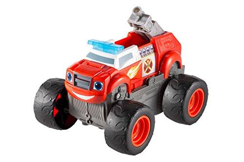 Fisher-Price Nickelodeon Blaze & the Monster Machines, Transforming Fire Truck Blaze (Truck Sound Monster)