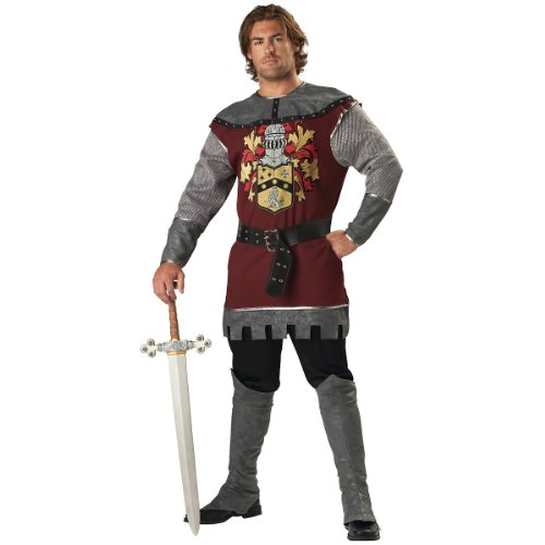Noble Mens Adult Warrior Costumes (Noble Knight Adult Costume -)