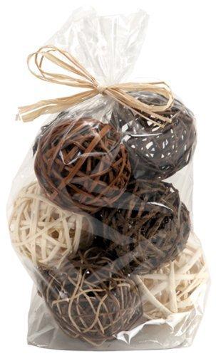 Bag of Brown Natural Wicker 4