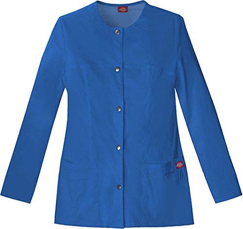 (Dickies Gen Flex Women's Crew Neck Solid Scrub Jacket X-Large)