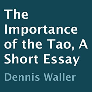 The Importance of the Tao Audiobook