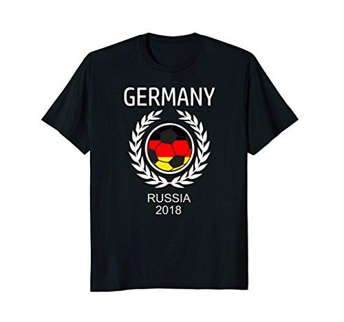 Germany German Soccer Team 2018 T Shirt Football Fan