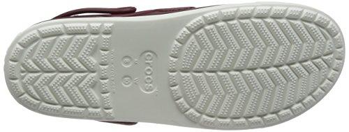 Crocs Citilane Clog, Zuecos Unisex, , Marrón (Garnet/White)