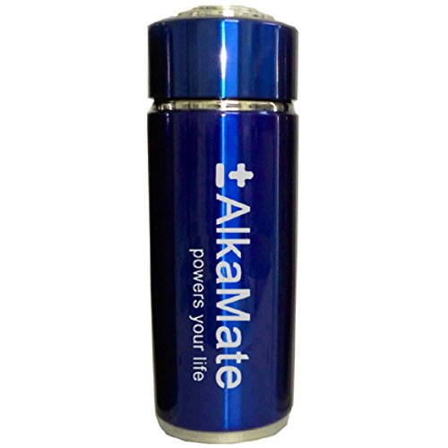 Alkaline Water Carriable on the Go Water Maker, Choose Your Color (Blue)