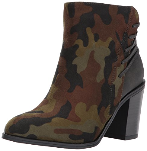 Very Volatile Women's Lacey Ankle Bootie, Camo, 6.5 B US