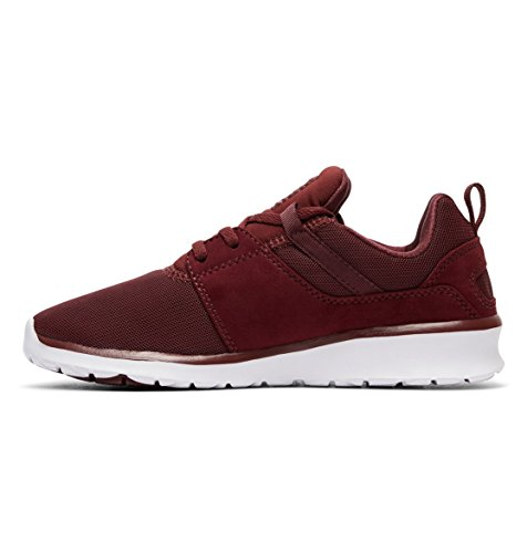 Heathrow DC para Mujer BURGUNDY Zapatillas Shoes p54xqa4H