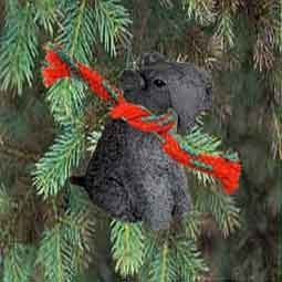 Kerry Blue Terrier Miniature Dog Ornament