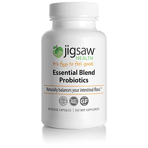 Jigsaw Health Essential Blend Probiotics Supplement, 90 Count Review