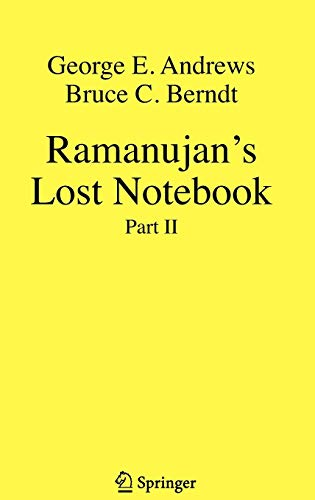 Ramanujan's Lost Notebook: Part II (Pt. 2)