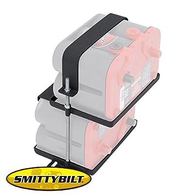 Brightt (S/B-GBP-653) Dual Battery Tray fits Jeep TJ Wrangler 1997-2006