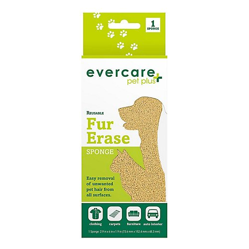 Evercare Pet Reusable Pet Fur Removal Sponge