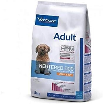Virbac Veterinary HPM Vet Dog Adult Alimento esterilizado para perros S & Toy 1,5 kg