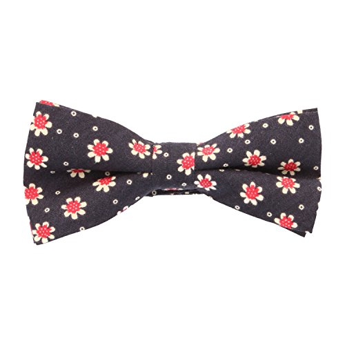 Blue Floral Navy Bow Frederic Tied Tie Pre Thomass qfTAvO8