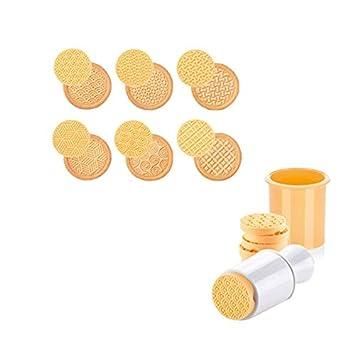 Molde para galletas, 6 piezas/set de sellos 3D de dibujos animados, molde