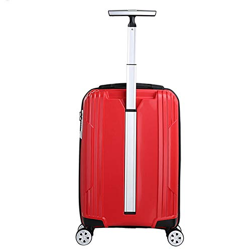 LGXWR Simple Barre de 19 pouces à une Barre Avion Roue de Chariot de Chariot Simple embarquement Locomotive, bleu, Blanc, Rose, bleu, (Color : Red, Size : 19 ()