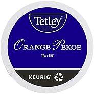 Tetley Orange Pekoe Single Serve Keurig Certified Recyclable K-Cup pods for Keurig brewers, 12 count