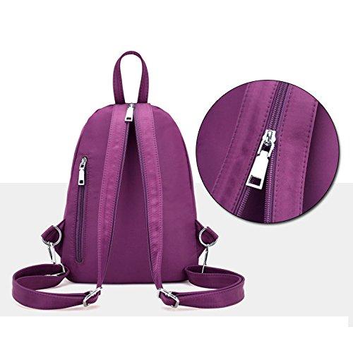 Per Ragazze Tracolla Multifunzione 23 Black Impermeabile purple Da Satchel A Donne Hope In Donna Daypack 32cm Zaino Messenger 12 Borsa Nylon qCYApwP