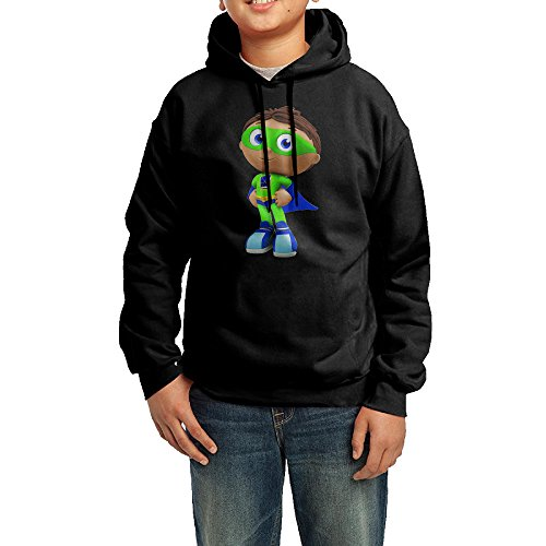 Super Why!cartoon Youth Classic Pullover Athletic Sweatshirt Hoodies