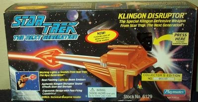 (Klingon Disruptor Star Trek the Next Generation)