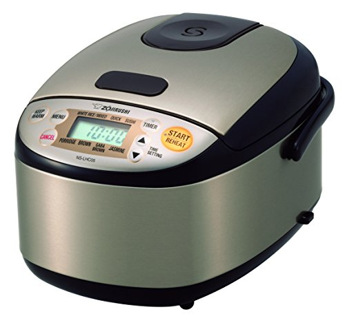 Zojirushi NS-LHC05XT Micom Rice Cooker & Warmer, Stainless Dark -