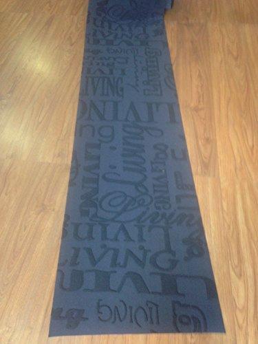 tappeto cucina 50 x 180 nero antracite living moderno lavello ... - Tappeto Cucina Moderno
