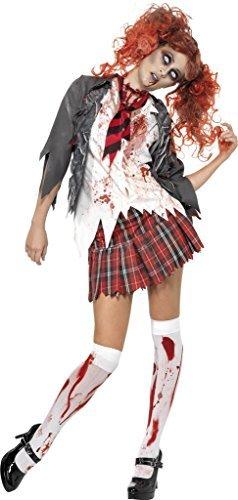 Smiffy's Women's Zombie School Halloween Fancy Dres Costumesmall (UK 8-10) Multicolor]()