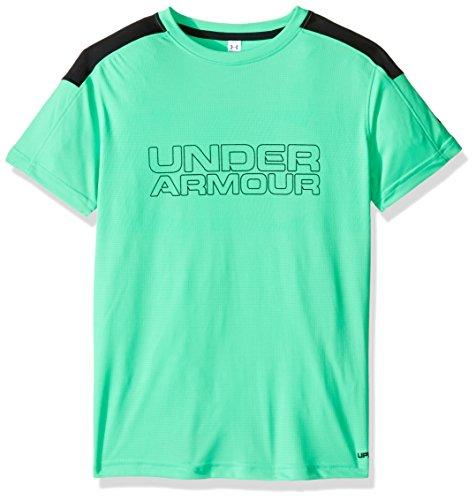 実質的酸素酸素(アンダーアーマー)UNDER ARMOUR ヒートギアアクティベートSS(トレーニング/Tシャツ/BOYS)[1290005]