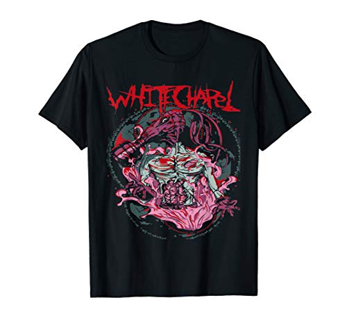 heavy Deathcore band whitechapel t-shirt