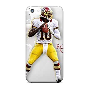 IanJoeyPatricia Iphone 5c Shock Absorption Cell-phone Hard Covers Custom Attractive Washington Redskins Pattern [IZl11385KZJM]